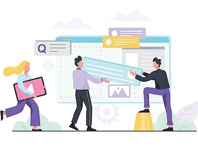 """Construção de um Website - Publicada em """"Seu Projeto Precisa de um Website"""" no Federici.vip"""